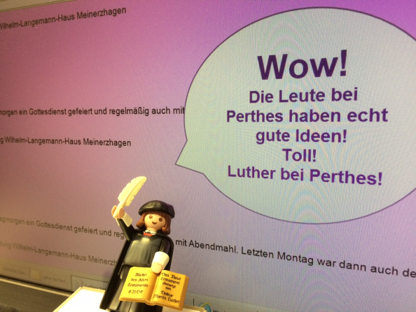 Luther bei Perthes